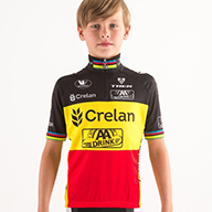THIS ITEM IS NOT CURRENTLY AVAILABLE, BUT CAN BE PLACED ON ADVANCE ORDER FOR YOU – PLEASE NOTE THESE WILL PROBABLY NOT BE AVAILABLE IN TIME FOR MILTON KEYNES, BUT THE SUPPLIER VERMARC IS DOING ITS BEST! We will have more information for you at Milton Keynes, so do ask there. Kids size Belgian Champs' team jersey (no shorts)